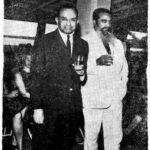 Dr Jack With Mr Damle the Then Governor